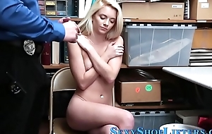 Real shoplifter fucked