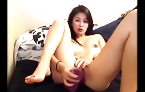 Japanese girl masturbates on livecam - more at AngelzLive.com