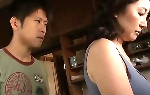 Asian MILF Sanctimony Resist Her Stepson